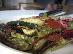tofu lasagna, toronto personal chef